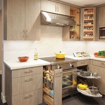 Ellington Condo Kitchen and Office Remodel