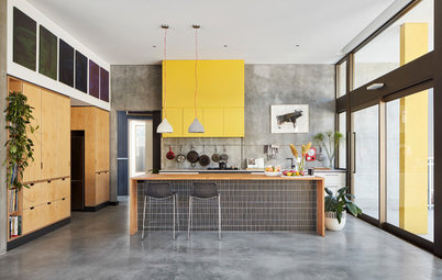 Concrete Flooring Stands Up to the Test in the Kitchen