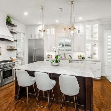 Ellsworth Elegant Kitchen & Living Space