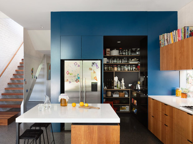 Contemporary Kitchen by Gardiner Architects