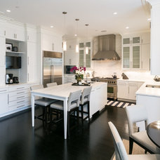 Transitional Kitchen by Marlene Dennis Design