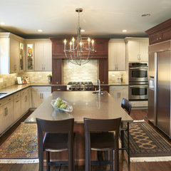 contemporary kitchen by Kristin Petro Interiors, Inc.