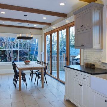 Elmwood Kitchen, Dining Room, Bathroom & Deck