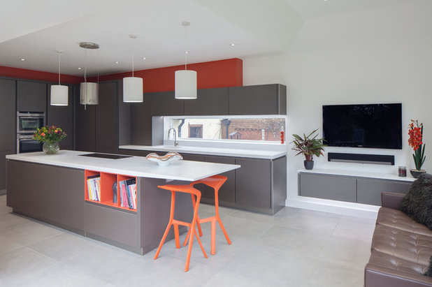Contemporary Kitchen by Spencer Marchand