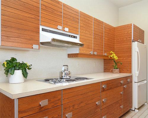 Ideas para cocinas | Fotos de cocinas en colores madera con suelo de ...