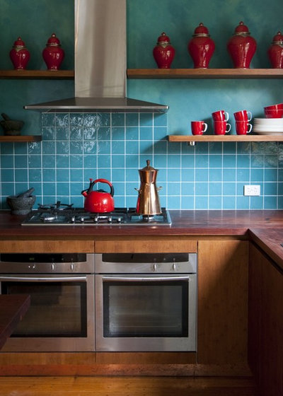 Eclectic Kitchen by Camilla Molders Design
