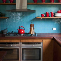eclectic kitchen by Camilla Molders