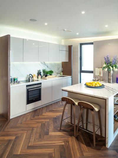 Contemporary Kitchen by MAD Martinelli Architecture & Design