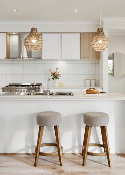 Contemporary Kitchen by Carlisle Homes