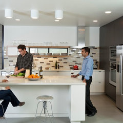 modern kitchen by Eco Offsite