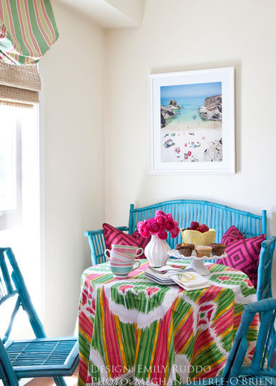 Steep Your Rental In Color Without Painting The Walls
