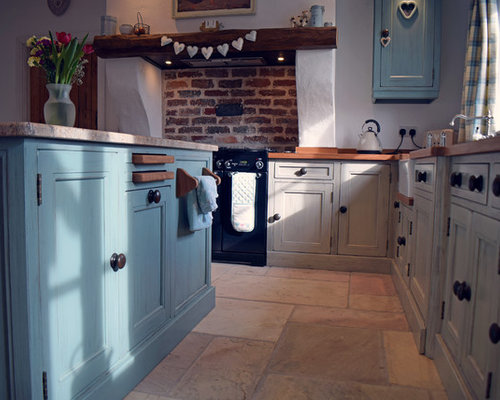 Ideas para cocinas | Fotos de cocinas con salpicadero de ladrillos ...