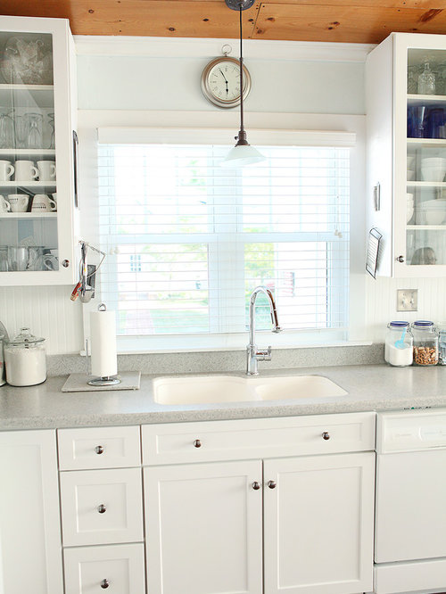 Nice Inspiration For A Timeless Kitchen Remodel In Columbus With An Integrated  Sink