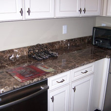Traditional Kitchen by National Marble Products