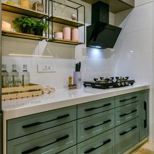 Eklektische Küche in Mumbai