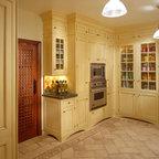 Wood N White Mediterranean Kitchen Philadelphia