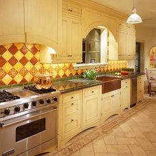 Mediterranean Kitchen by Jamie Herzlinger