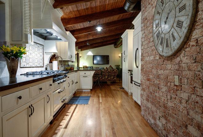 Mediterranean Kitchen by Tiara Sun Development LLC