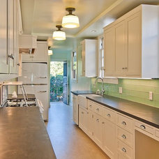 Traditional Kitchen by McCaffrey Custom Construction, Inc.