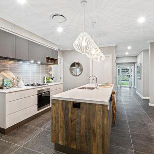 75 Beautiful Coastal Galley Kitchen Pictures Ideas April 2021 Houzz