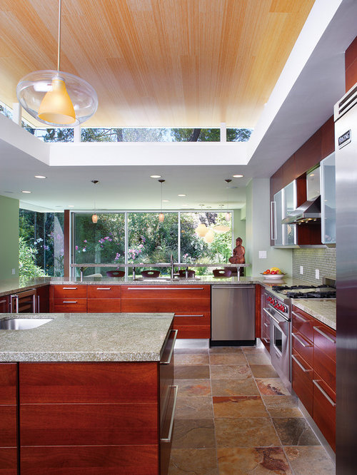 bamboo ceiling home design ideas pictures remodel and decor 15103 | 4c2108010d03d8b1 1901 w500 h666 b0 p0 contemporary kitchen