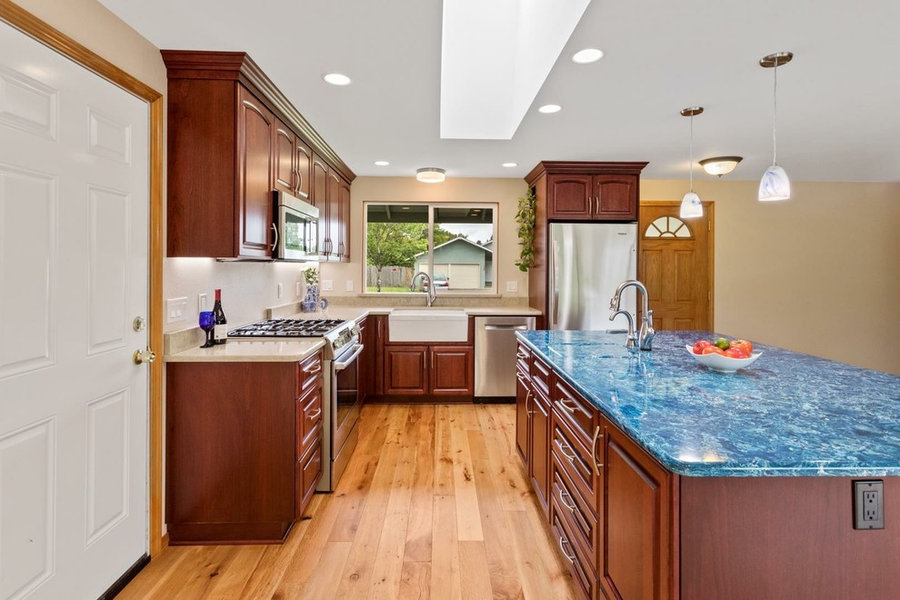 Enclosed Kitchen to Great Room Transformation