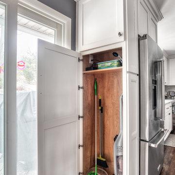 End Cabinet Storage