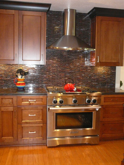 Traditional Kitchen by Landmark Builders