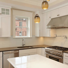 Transitional Kitchen by Select Stone