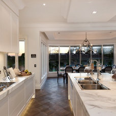 Contemporary Kitchen by Matthew Mallett Photography