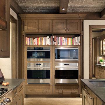 Englewood Colorado Mountain Style Kitchen