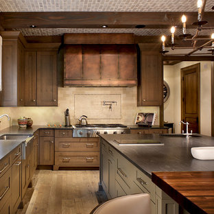 Englewood Colorado Mountain Style Kitchen