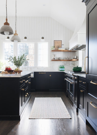 Transitional Kitchen by reDesign home