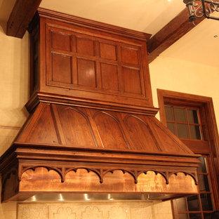 Foto på ett vintage kök