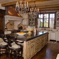 Traditional Kitchen by Brent Gibson Classic Home Design