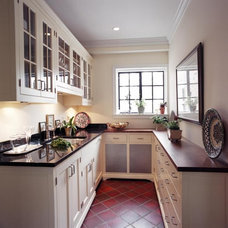 Traditional Kitchen by Burns and Beyerl Architects