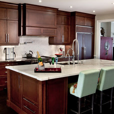 Traditional Kitchen by Lucid Interior Design Inc.
