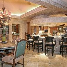 Mediterranean Kitchen by Russell