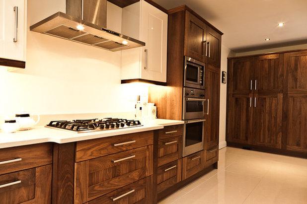 Contemporary Kitchen by Anne Ellard Design