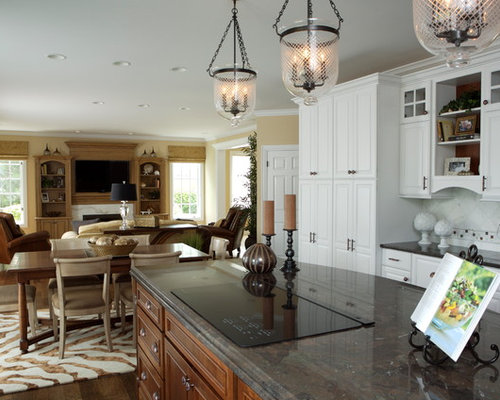 design of open kitchen. Eclectic open concept kitchen photos  Example of an eclectic design in Chicago Open Kitchen To Dining Room Houzz
