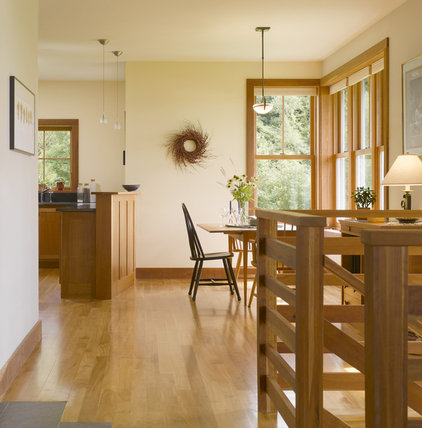 Farmhouse kitchen by truexcullins architecture interior - What color goes with cream ...