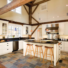 Farmhouse Kitchen by Windover Construction