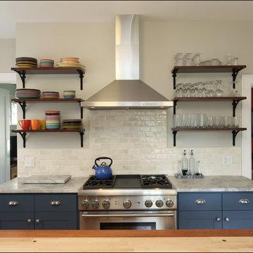 Ericka and Ernest's Laurelhurst Craftsman Kitchen