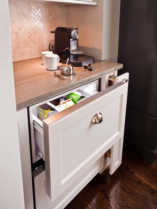 Pull-out Refrigerator Drawers | Houzz