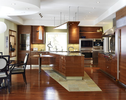 Shiny kitchen cabinets home design ideas pictures for Asian kitchen cabinets design