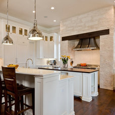 Traditional Kitchen by Kelle Contine Interior Design, LLC