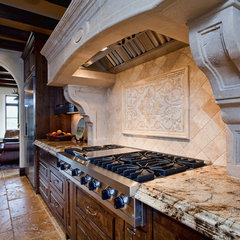 mediterranean kitchen by Butterfield Custom Homes