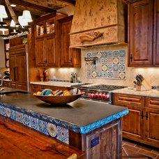 Mediterranean Kitchen by Butter Lutz Interiors, LLC