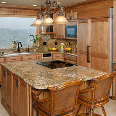 Kitchen by Rock-It Surfaces Inc.