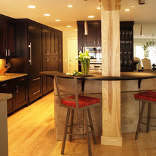 Contemporary Kitchen by HighCraft Builders